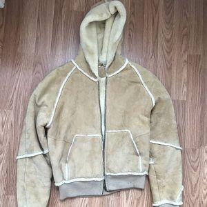 UGG coat with hood